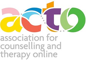Online Counselling. ACTO logo